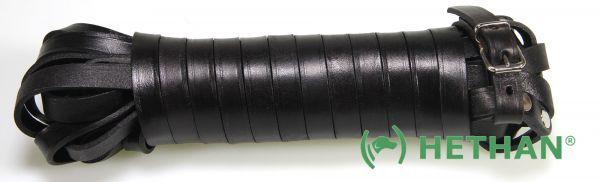 Schweißriemen Leder, braun, 20mm, 10m